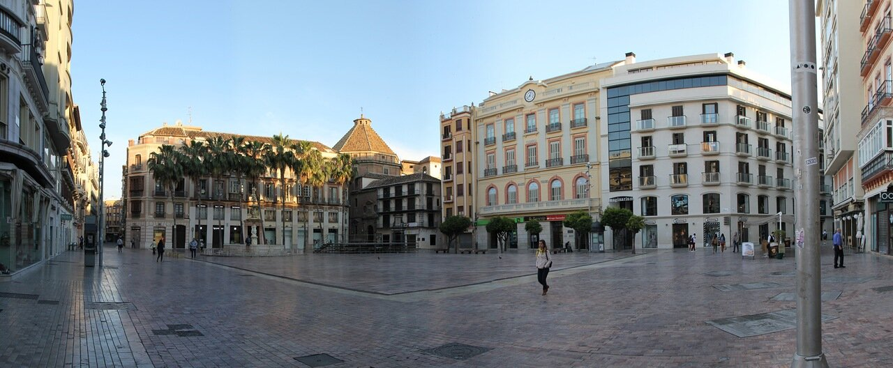 Малага. Площадь Конституции (Plaza de la Constitución)
