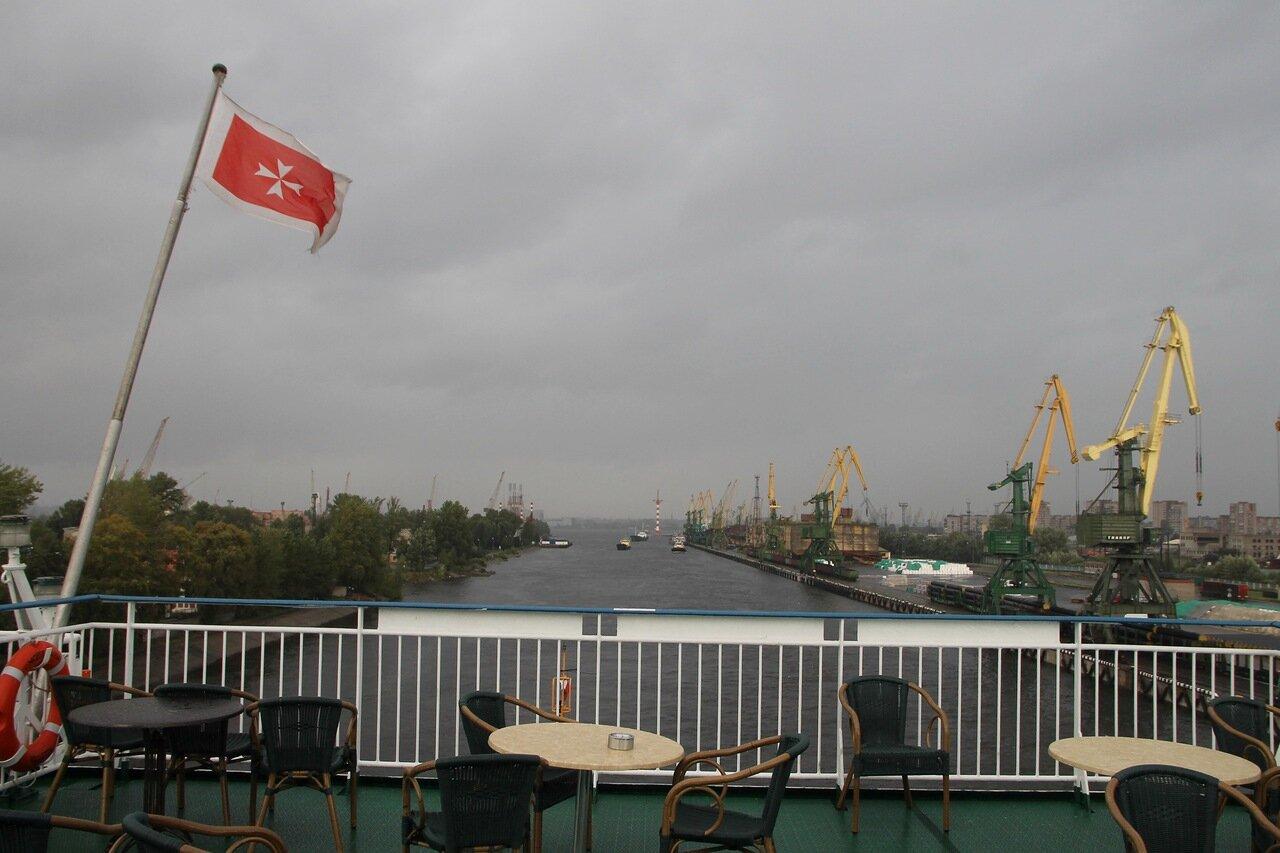 Санкт-Петербург, Морской канал, порт , паром Принцесса Мария
