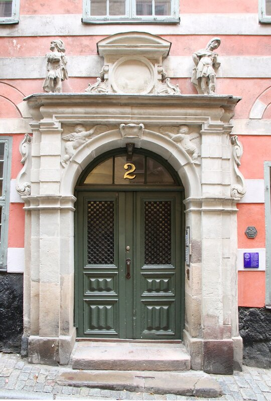 Stockholm, Gamla Stan. The House Of Bartel. Bartelska huset