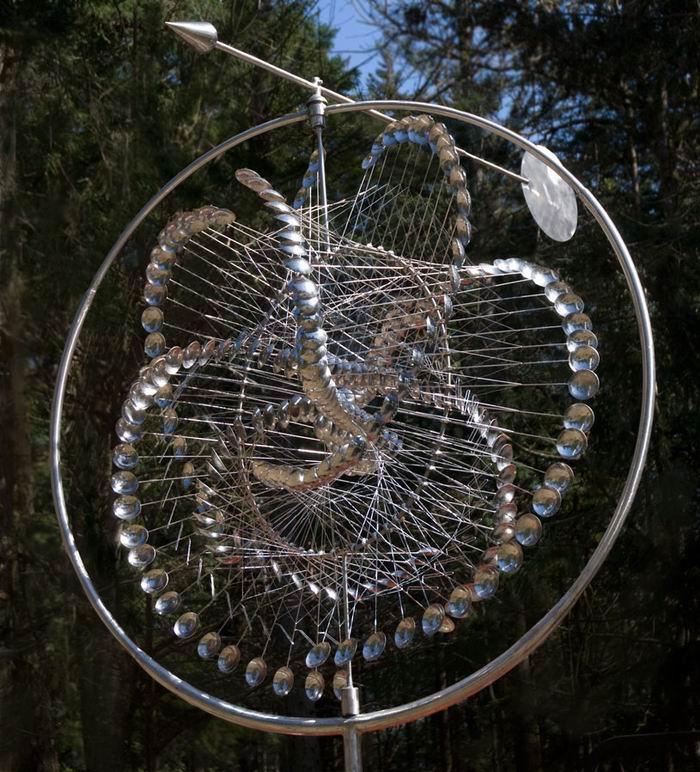 Кинетические скульптуры Anthony Howe / Энтони Хоува