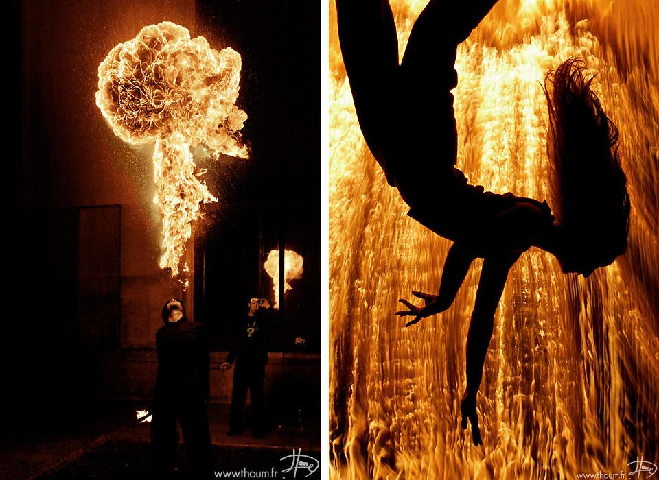 Температура пламени зависит от источника, вызвавшего воспламенение и от горящих материалов.