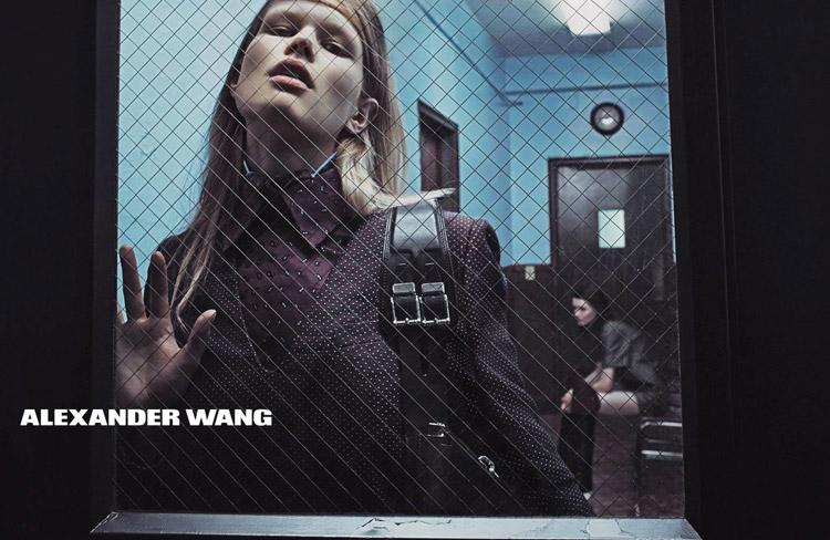 Фотосессия для Alexander Wang (6 фото)
