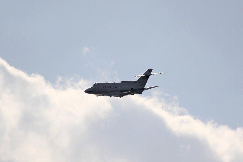 Частный самолет RA-02809 (Hawker Siddeley HS-125)