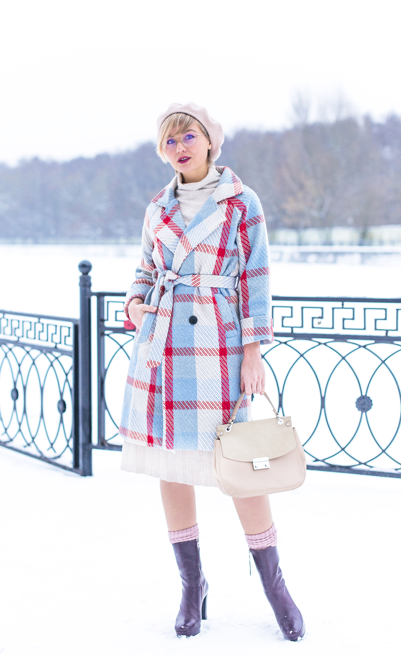 inspiration, streetstyle, autumn outfit, annamidday, top fashion blogger, top russian fashion blogger, фэшн блогер, русский блогер, известный блогер, топовый блогер, russian bloger, top russian blogger, streetfashion, russian fashion blogger, blogger, fashion, style, fashionista, модный блогер, российский блогер, ТОП блогер, ootd, lookoftheday, look, популярный блогер, российский модный блогер, russian girl, цветовые сочетания, streetstyle, красивая девушка, FW2017-2018, Marc Cain new collection, Анна миддэй, анна мидэй, Marc Cain, MBFWB, MBFW Berlin 2017, Berlin fashion week 2017, Fashion week, marc cain bag, marc cain Stylish boots, chicwish checked coat, chicwish, french beret