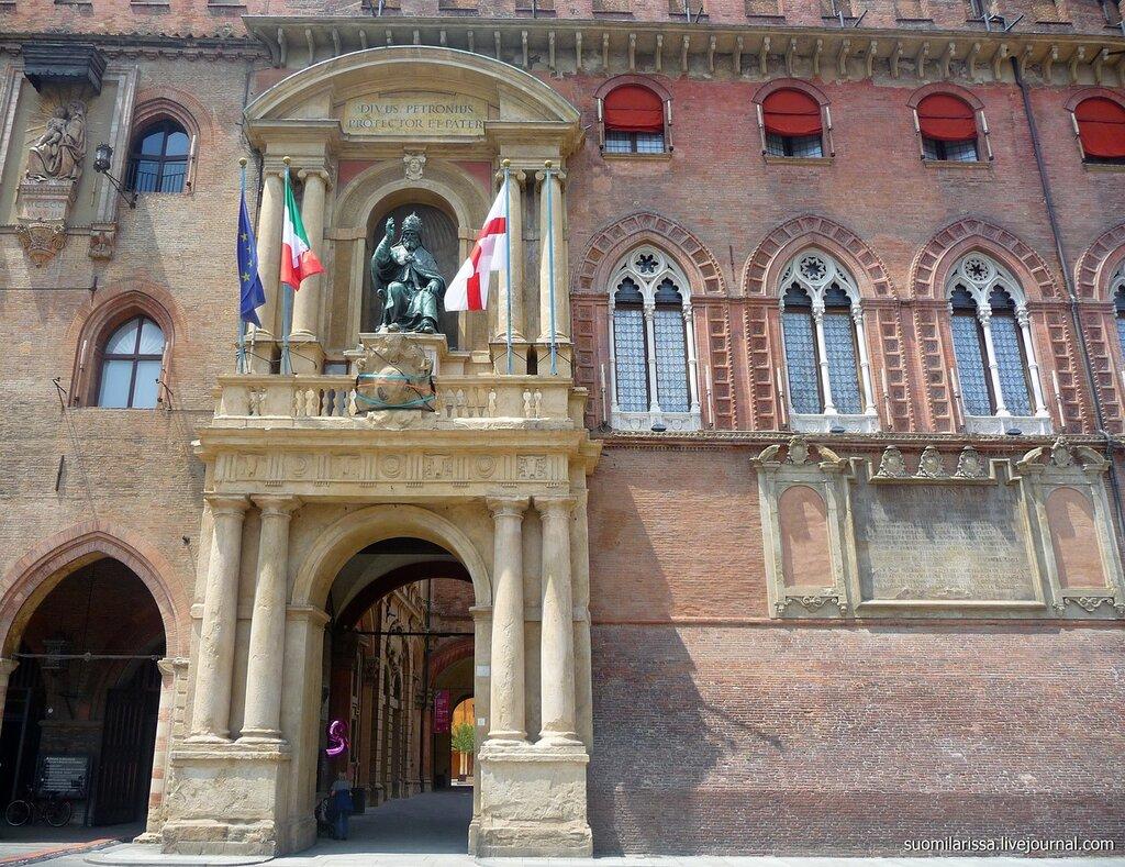 Bologna. Palazo Comunicale.