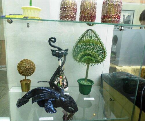 Выставка колледжа культуры, Барабинск, Аспект