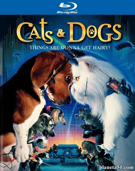 Кошки против собак / Cats & Dogs (2001/HDRip)