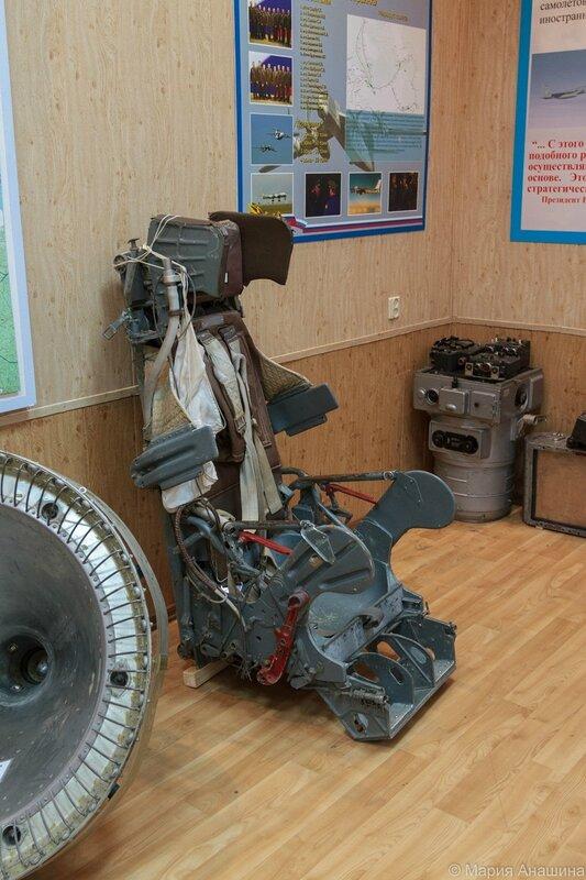 Катапультное кресло, Музей Дальней авиации, Рязань