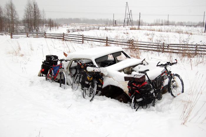 Паркинг 'У старой Волги'
