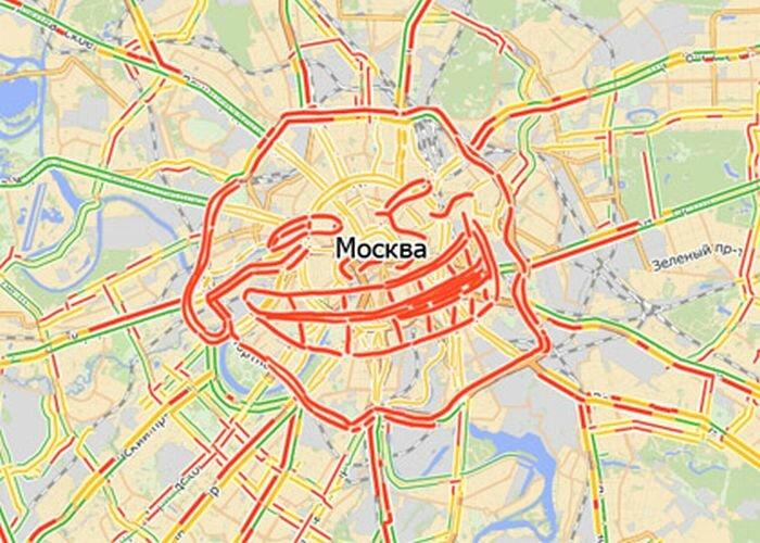 Пробки в городе Москва | ГАИ РУ