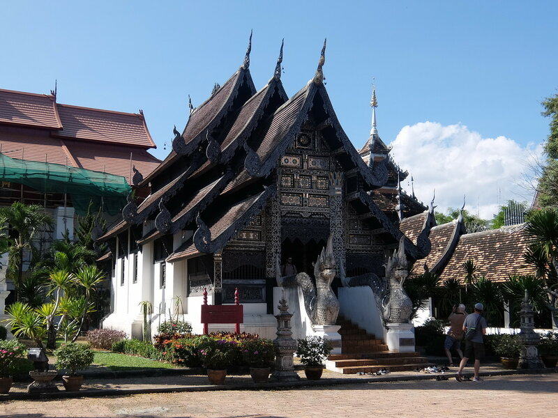 Чиангмай - Ват Чеди Луанг - Храм с драконами