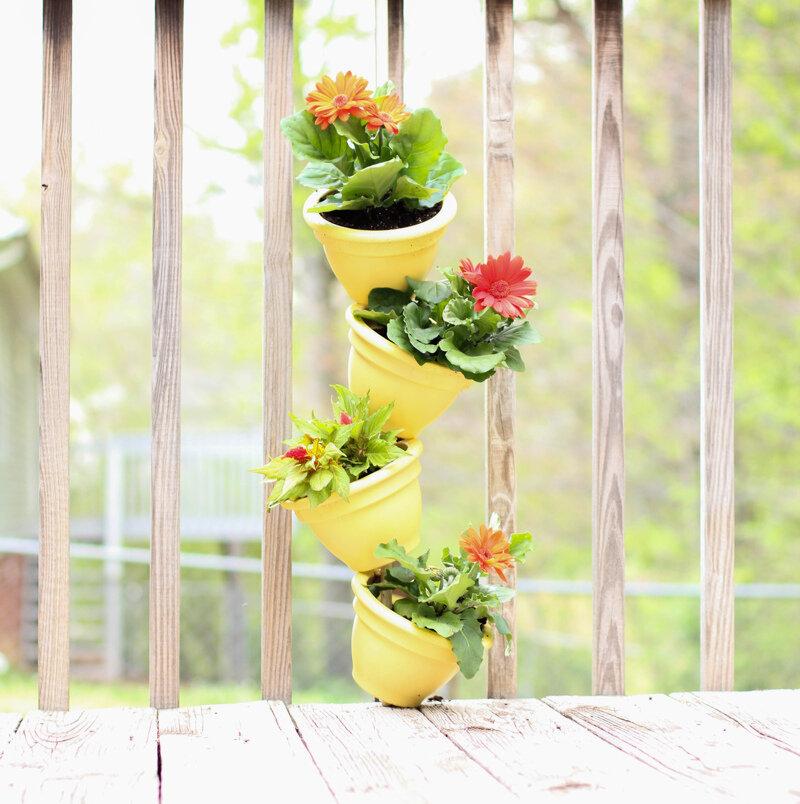 Как создать вертикальный сад на балконе :: загородный дом ::.