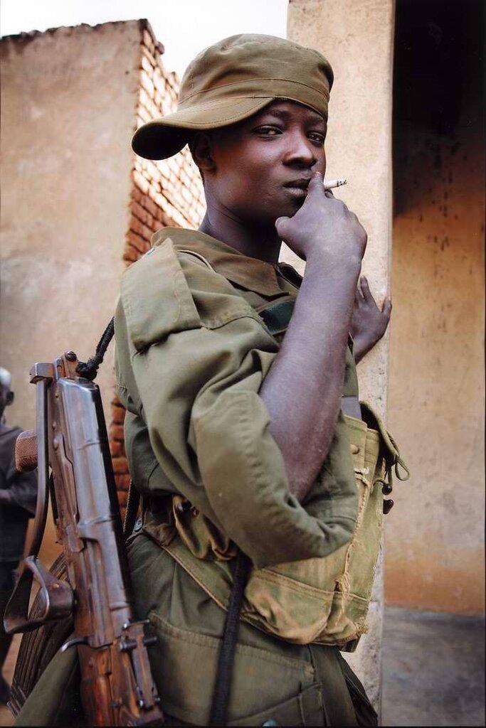 Дети солдаты - Уганда (2)