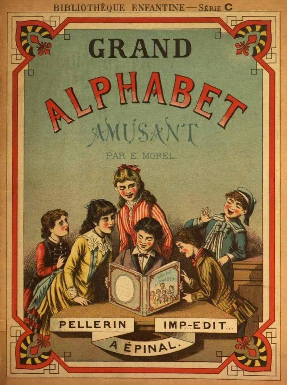 Большой забавный алфавит: Внешняя обложка (Франция)