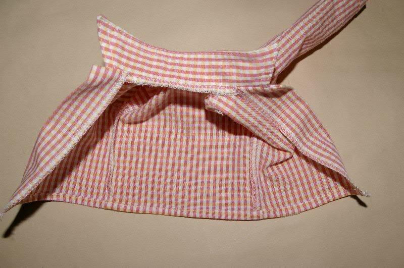 Рубашка для кукол