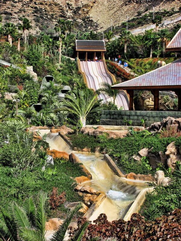 Сиам Парк (Siam Park) на Тенерифе. Испания