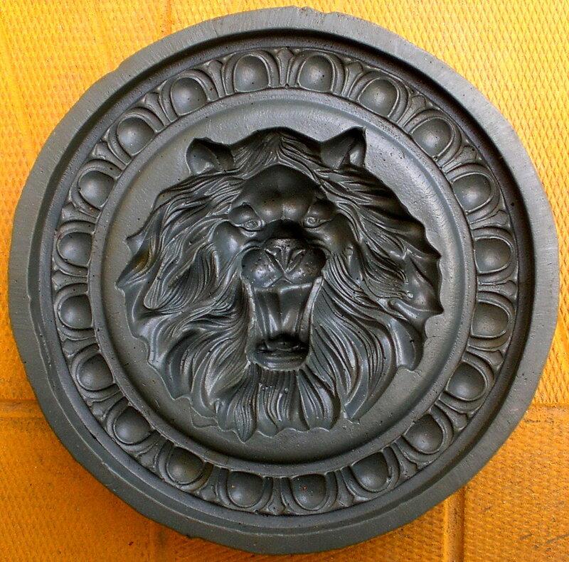 Форма Элемент декора круглый медальон ЛЕВ