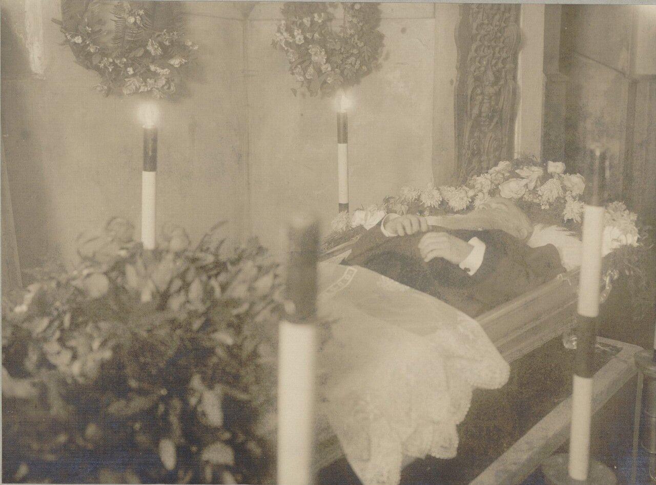 Рауль Пюньо на смертном одре