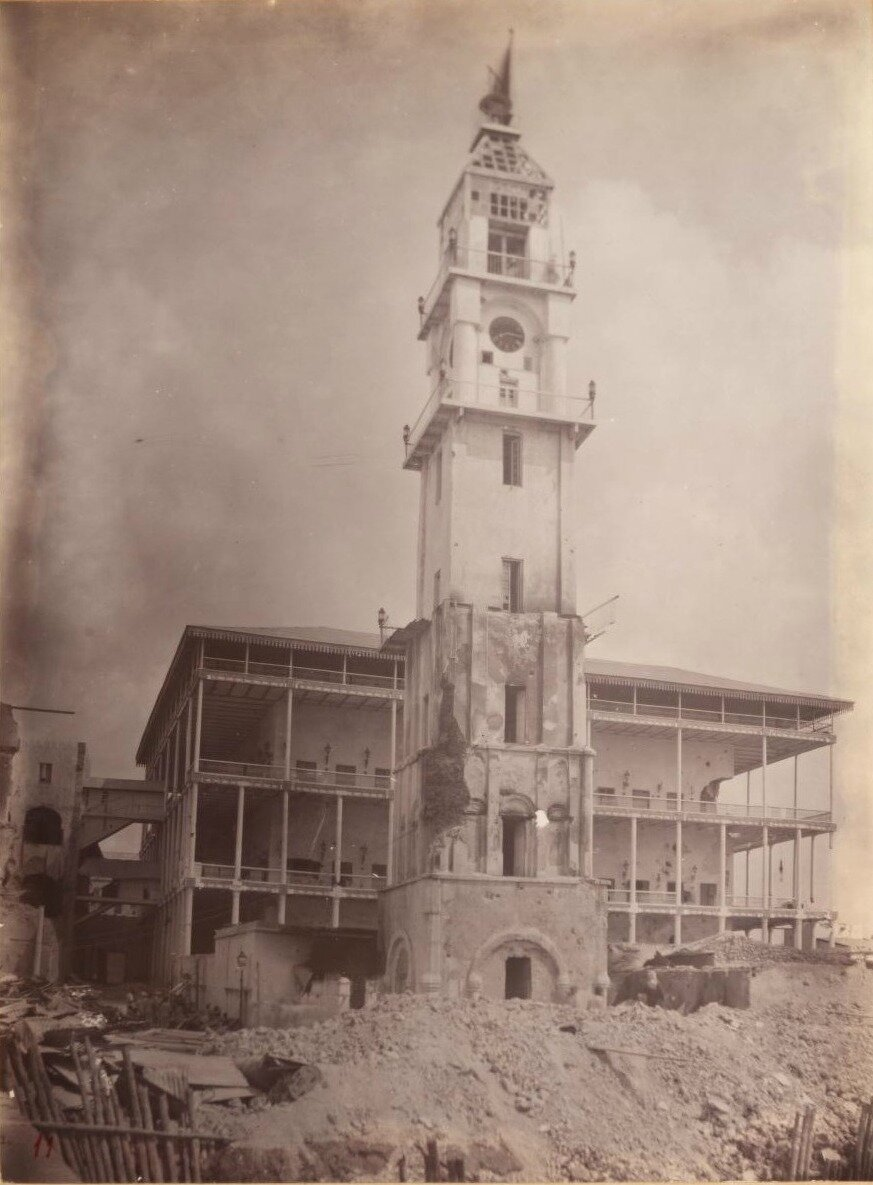 Руины старой башни