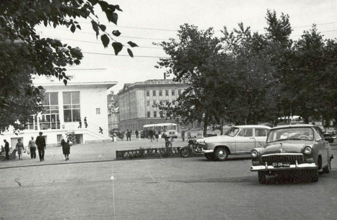 1970. Речной вокзал