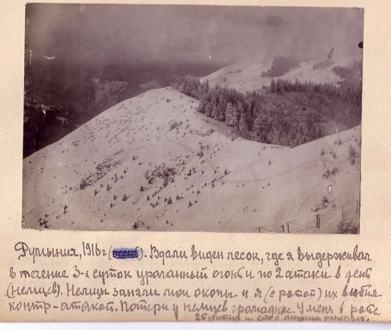 Румыния, 1916.