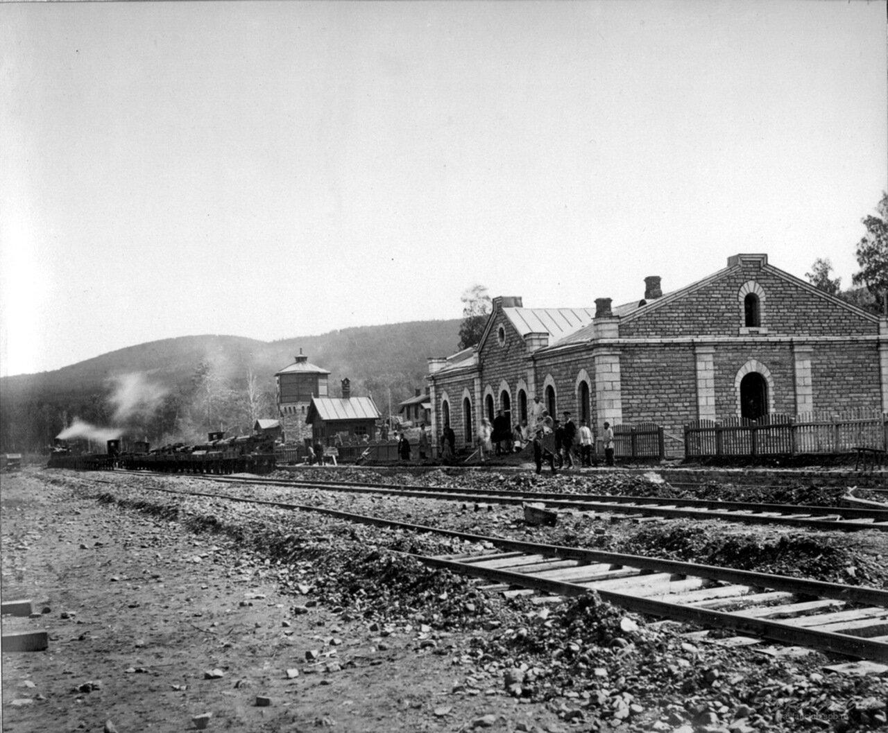 Станция Сулея. Самаро-Златоустовская ж.д., конец XIX в.