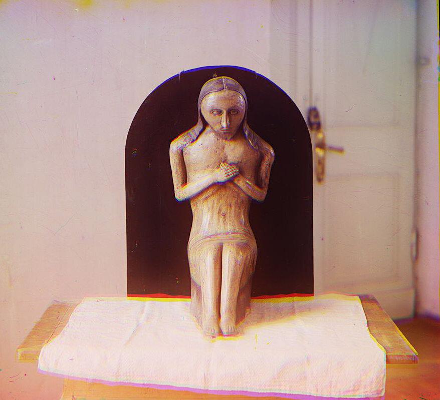 Тверской музей. Скульптура Христа
