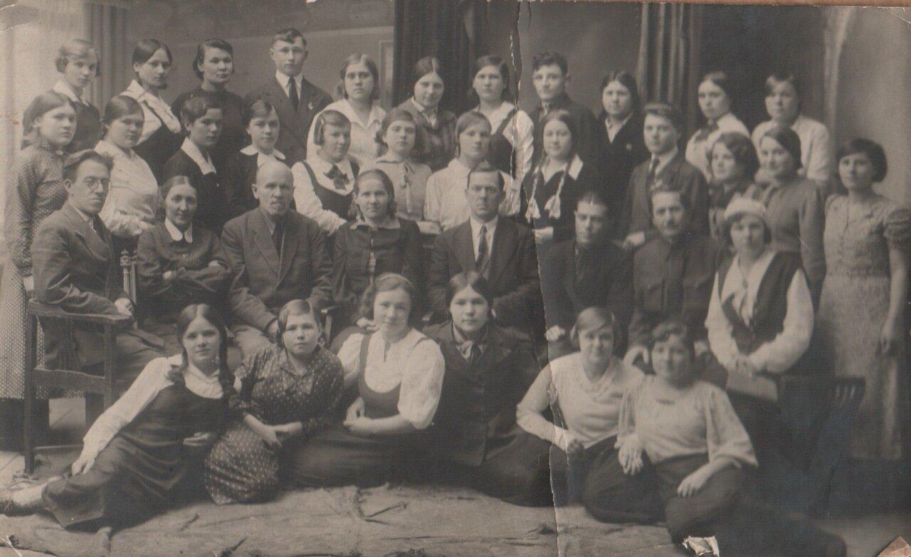 1940. сентябрь. Арзамасское педучилище