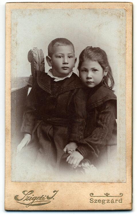 Szigeti - Szekszárd 1890-1900