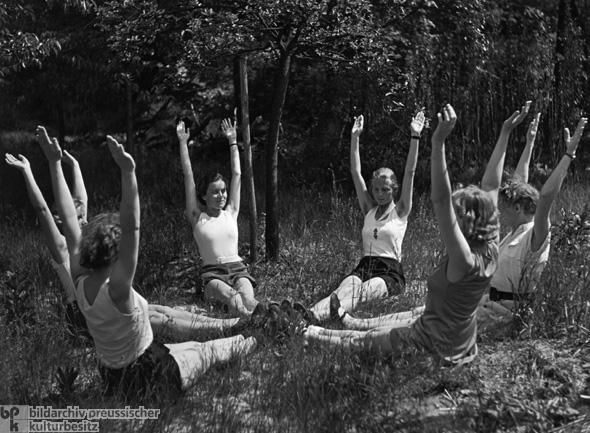 Подготовка жен при Гитлере