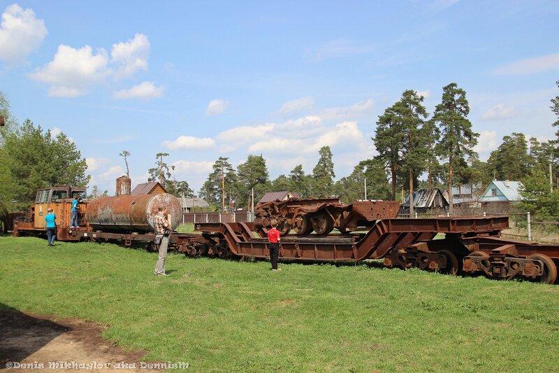 Переславский железнодорожный музей.