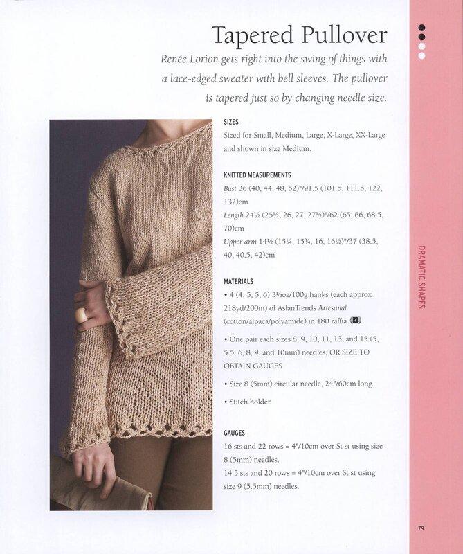 VOGUE KNITTING. VARY EASY SWEATERS 2013 - 编织幸福 - 编织幸福的博客