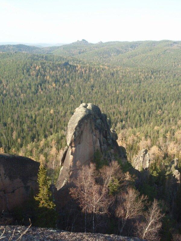 Часть скалы Крепость