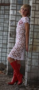 Ромашки от Наташки - платье крючком