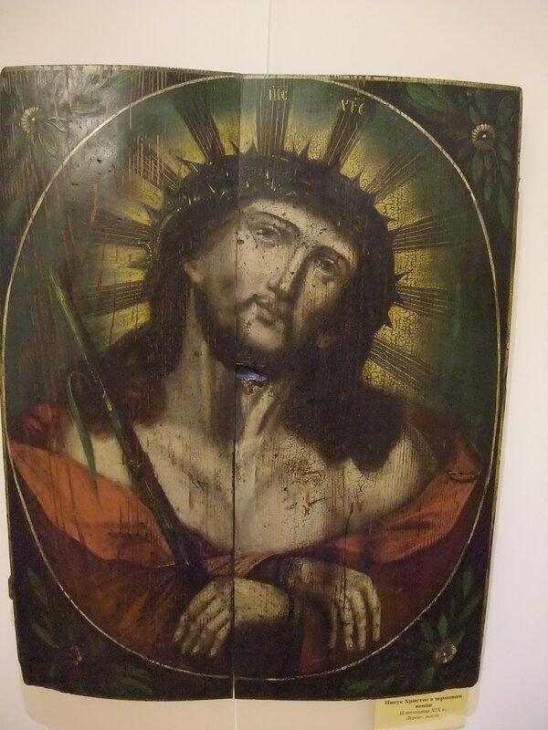 Выставка икон. Святые лики Иисуса Христа и Богоматери