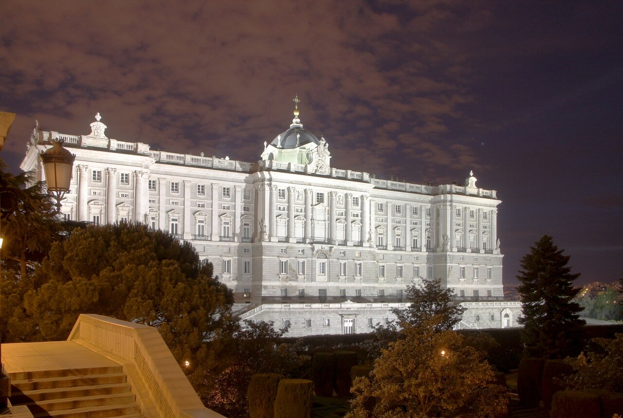 Night Madrid.