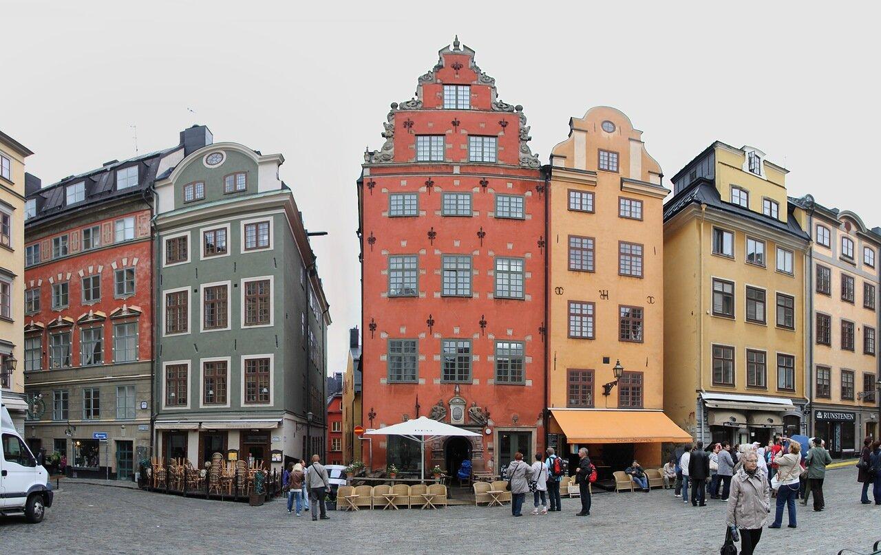 Стокгольм, Дом Шанца. Schantzska huset. Stockholm,