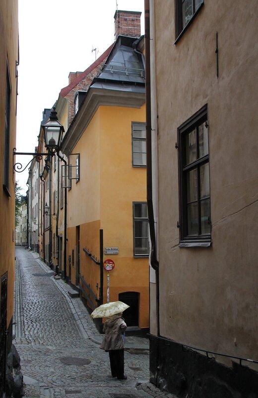 Stockholm, Gamla stan. Västerlånggatan