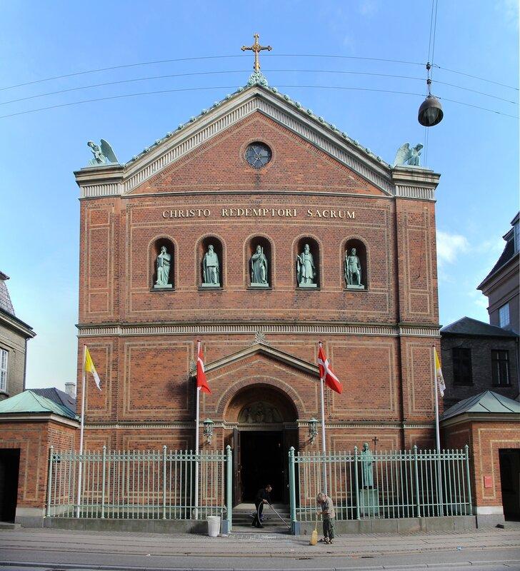 Copenhagen. The Cathedral of St. Ansgar (Sankt Ansgar Kirke)