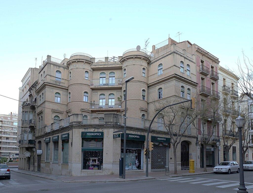 Тортоса, Улица Сервантеса. Carrer de Cervantes. Torosa