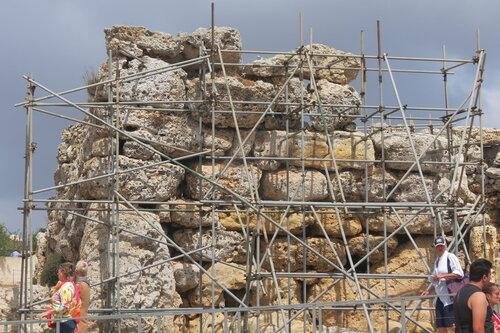Джгантия - доисторический храм