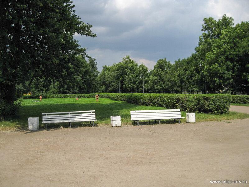 Московский парк Победы. Здесь моё путешествие заканчивается.