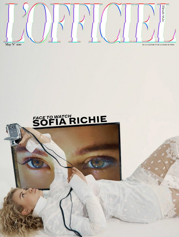 Sofia Richie is the Cover Star of L'Officiel Singapore May 2017 Issue