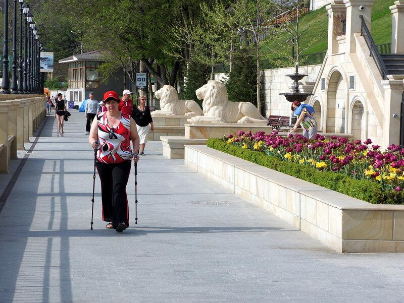 Финская ходьба в Одессе