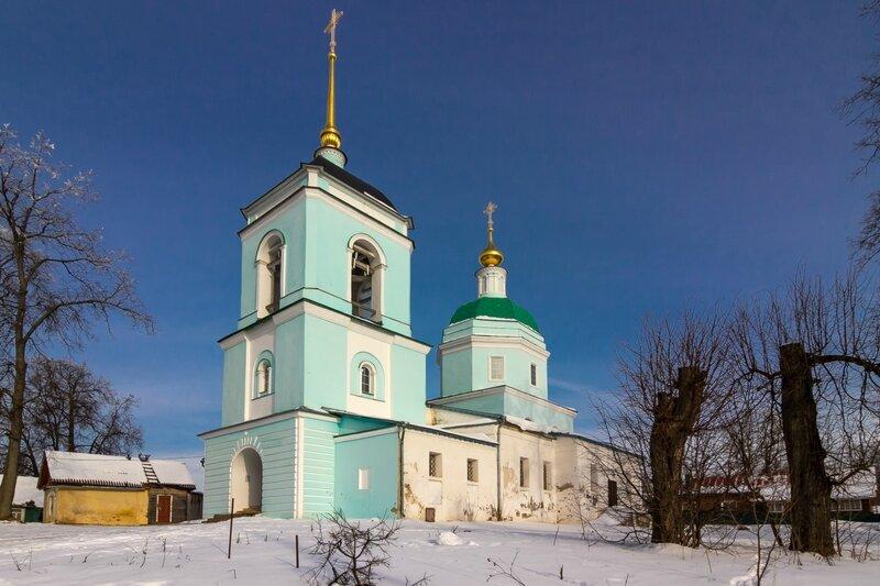 Введенская церковь в Ольгово