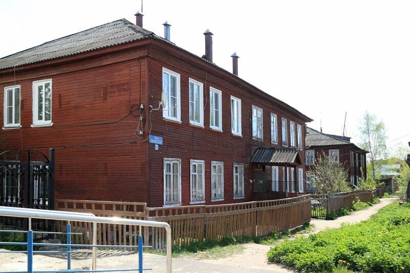 Балахна, дома по Пионерскому переулку