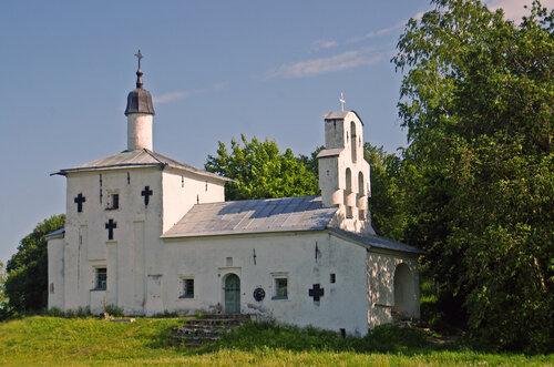 Никольская церковь «Труворова» городища