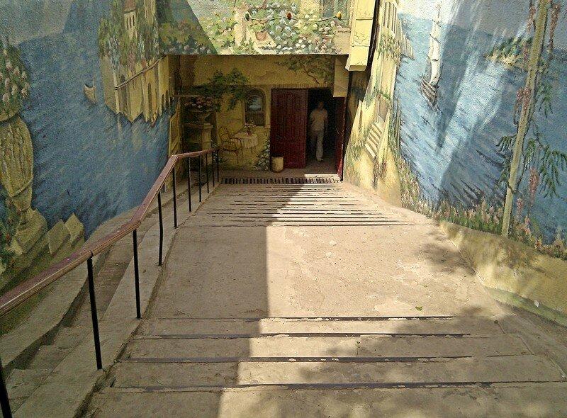 Подземный переход в Уральске