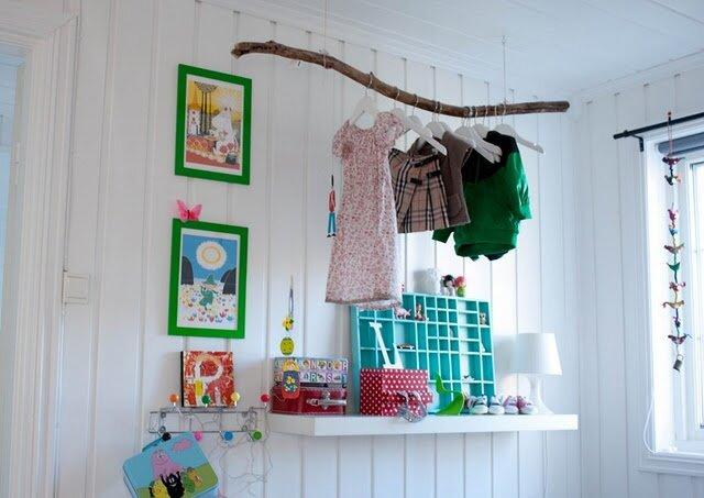 Декор детской комнаты своими руками фото