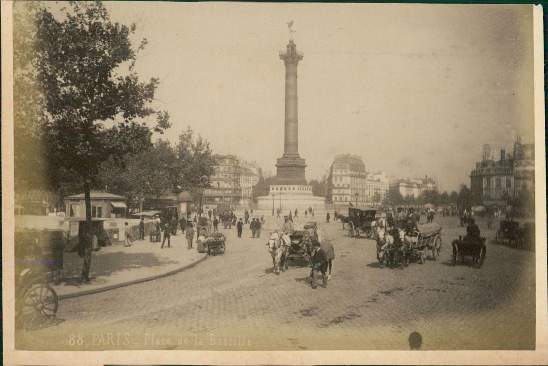 1889. Площадь Бастилии